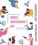 World Photography Day Banner...