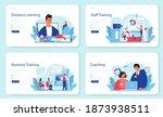 staff training web banner or...   Shutterstock .eps vector #1873938511