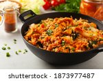 Kimchi Cabbage With Chicken....