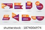 new arrival vector illustration ... | Shutterstock .eps vector #1874006974