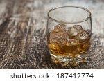 whiskey drink   Shutterstock . vector #187412774