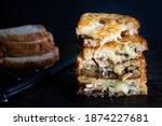 Garlic Mushroom Grilled Cheese...