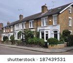 Terrace Of 19th Century Englis...