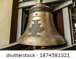 Close Up Orthodox Church Bells. ...