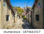 Taichung Qingshui art village in taichung city, taiwan