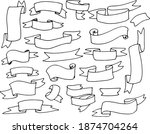 a hand drawn doodle style set...   Shutterstock .eps vector #1874704264