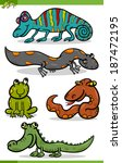 cartoon vector illustration of... | Shutterstock .eps vector #187472195