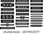 patterned bracelet template for ...   Shutterstock .eps vector #1874913577
