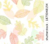 beautiful seamless doodle... | Shutterstock .eps vector #1875048154