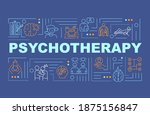 psychotherapy word concepts...