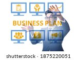 business plan concept with... | Shutterstock . vector #1875220051