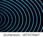 abstract blue wave lines...   Shutterstock .eps vector #1875270367