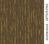 brown wenge grunge wooden wall... | Shutterstock .eps vector #1875291961