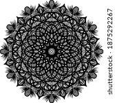 mandalas for coloring book.... | Shutterstock .eps vector #1875292267
