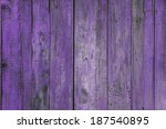 Painted Old Wooden Wall. Purpl...