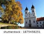 The Church Of Tihany Abbey At...