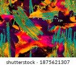fluid seamless tile....   Shutterstock . vector #1875621307