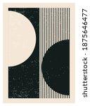 minimal 20s geometric design... | Shutterstock .eps vector #1875646477