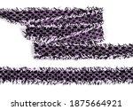 purple cotton tweed keeper... | Shutterstock . vector #1875664921