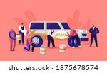 characters painting car making... | Shutterstock .eps vector #1875678574