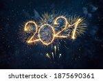 Happy New Year 2021. Beautiful...