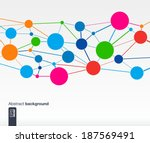 abstract colorful background... | Shutterstock .eps vector #187569491