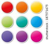 vector illustration of tags set ...   Shutterstock .eps vector #187571675