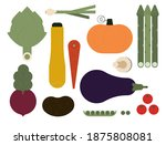 colorful collection of... | Shutterstock .eps vector #1875808081