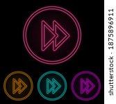 rewind mark in a circle color...