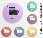 online marketing  file badge...