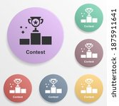 online marketing  contest badge ...