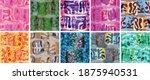 vector seamless pattern set.... | Shutterstock .eps vector #1875940531