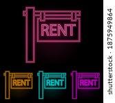 road signboard house rental...
