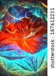 Fractal Background With...