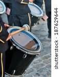 Detail Of A Bass Drum In A...