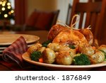 Roast Turkey  Potatoes  Onions...
