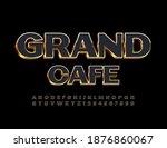 vector elite template grand... | Shutterstock .eps vector #1876860067