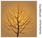 Gold Bare Tree