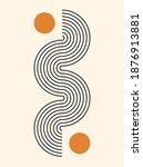 abstract background. line art....   Shutterstock .eps vector #1876913881