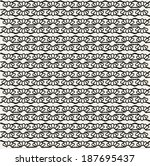 vector seamless pattern | Shutterstock .eps vector #187695437