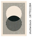 minimal 20s geometric design... | Shutterstock .eps vector #1877011384