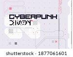 modern cyberpunk poster....