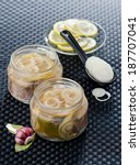 Marinated Mackerel Slices In A...