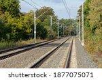 Railway Track In Rudawy...