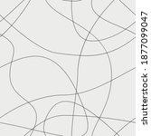 vector seamless pattern.... | Shutterstock .eps vector #1877099047