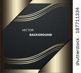 metal background | Shutterstock .eps vector #187711334
