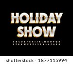 vector event poster holiday... | Shutterstock .eps vector #1877115994