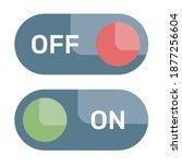 switch flat vector illustration....