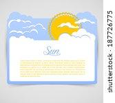 vector illustration  eps 10  of ... | Shutterstock .eps vector #187726775
