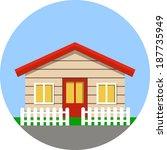 home  flat illustration